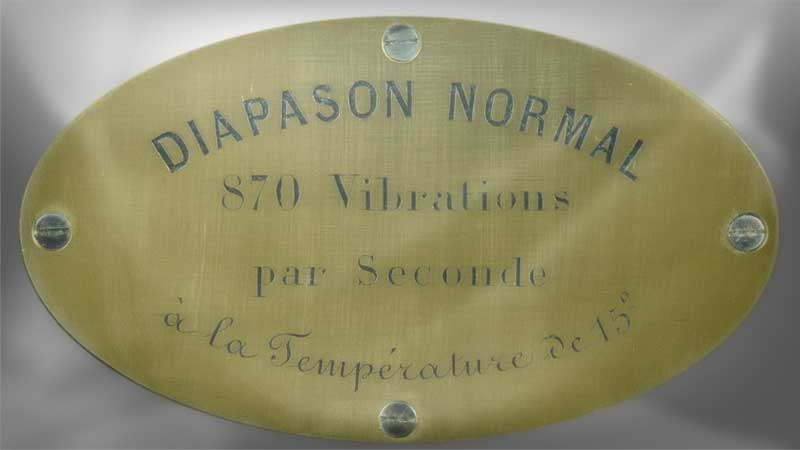 Le diapason ancien par Jacques Chailley