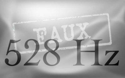 Le mythe du diapason 528 Hz et la cacophonie du Solfeggio